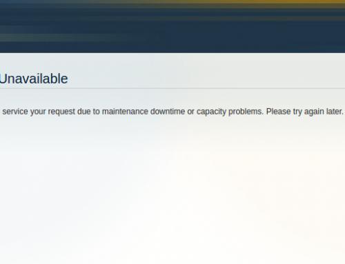 Solución error Magento 503 – Service Temporarily Unavailable