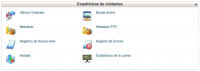 Estadísticas de visitantes cPanel - Hosting StartUp
