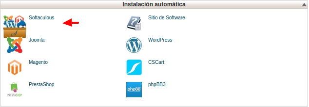 Softaculous - cPanel