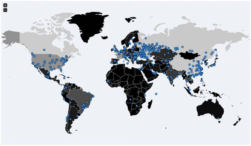 mapa ransomware