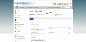 Notificar a Softaculous nueva versión - Hosting cPanel