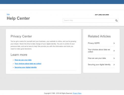 WSname.com actualiza su política de privacidad para adaptarse a la GDPR