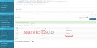 Hosting cPanel SpamExperts Sender whitelist lista dominios email servicios Internet Online